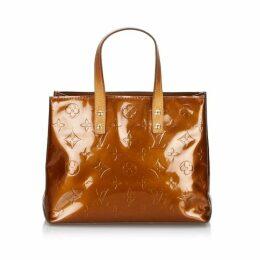 Louis Vuitton Brown Vernis Reade Pm