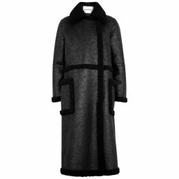 Stand Studio Adriana Faux Shearling Coat