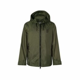Burberry Monogram Motif Lightweight Hooded Jacket