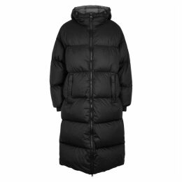 Colmar Black Quilted Shell Coat
