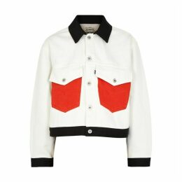 Levi's Made & Crafted Panelled Embroidered Denim Jacket