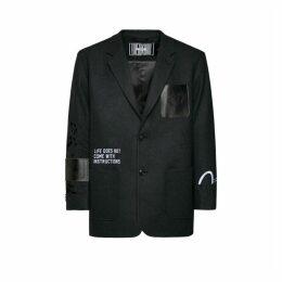 Evisu Wool College Blazer