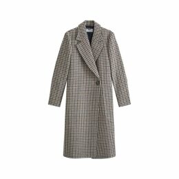 Jigsaw Heritage Check Maxi Coat