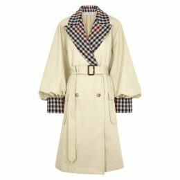 JW Anderson Sand Cotton Trench Coat