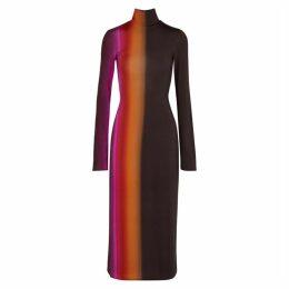 Ellery Bach Dégradé Jersey Midi Dress
