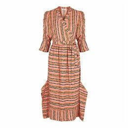 Hofmann Laura Printed Wrap Dress