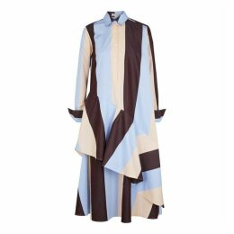 Palmer//harding Spicy Striped Cotton Dress