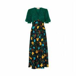 Kitri Joy Mix Print Tea Dress