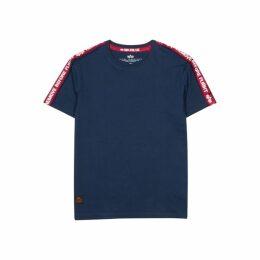 Alpha Industries RBF Tape Navy Cotton T-shirt