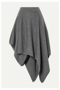 Michael Kors Collection - Asymmetric Cashmere Skirt - Gray