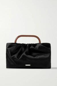 Balenciaga - Embroidered Cotton-jersey Sweatshirt - Black