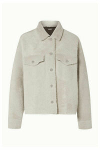 UTZON - Shearling Jacket - Off-white