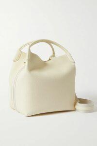 PatBO - Lace-trimmed Floral-print Georgette Maxi Dress - Sky blue