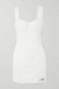 REDValentino - Pussy-bow Leopard-print Silk-blend Chiffon Midi Dress - Beige