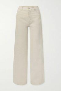 Magda Butrym - Trieste Draped Floral-print Stretch-silk Mini Dress - Beige