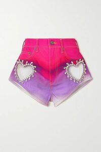 Rebecca de Ravenel - Gabrielle Wool-crepe Gown - Red