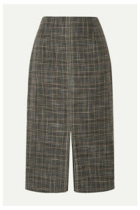 Roland Mouret - Moka Checked Bamboo Skirt - Black