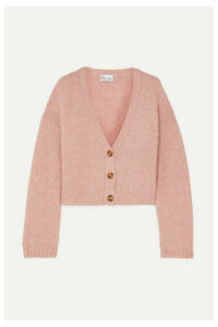 REDValentino - Cropped Knitted Cardigan - Pink