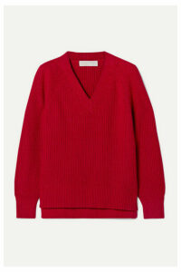 MICHAEL Michael Kors - Ribbed-knit Sweater - Red