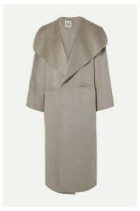 Totême - Annecy Oversized Wool And Cashmere-blend Coat - Gray