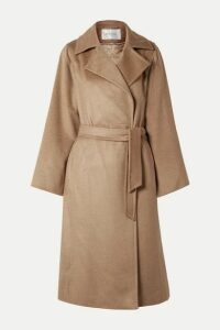 Max Mara - Manuela Icon Belted Camel Hair Coat - UK14