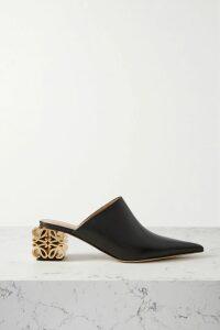 Fleur du Mal - Open-back Silk-satin Midi Dress - Black