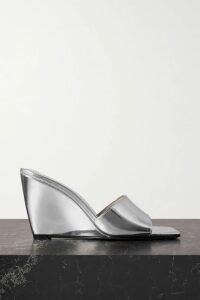 Stella McCartney - Asymmetric Silk Crepe De Chine Blouse - Green