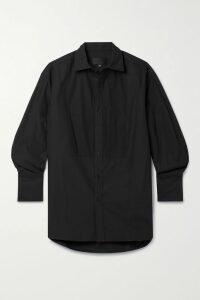 Tibi - Faux Shearling Coat - Gray