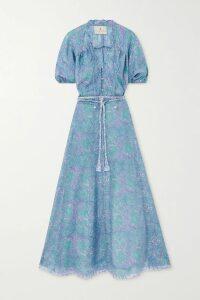 Silvia Tcherassi - Dilek Wool-crepe And Silk-satin Mini Dress - Black