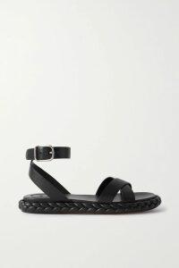 Jason Wu - Tie-neck Draped Georgette Dress - Red