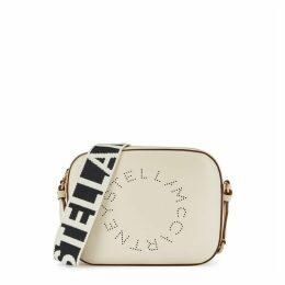 Stella McCartney Stella Logo Off-white Cross-body Bag