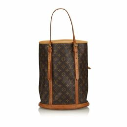 Louis Vuitton Brown Monogram Bucket Gm