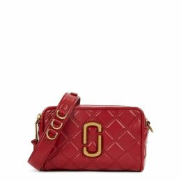 Marc Jacobs The Softshot 21 Red Leather Cross-body Bag