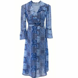 PHOEBE GRACE - Plain Jane Floaty Skirt in Black Poppy Print