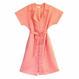McVERDI - Oversize Checkered Wool Coat In Olive