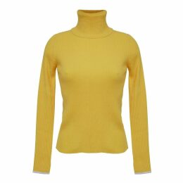 ELEVEN SIX - Edie T-Neck Sweater - Canary