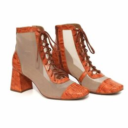 DIANA ARNO - Sally Wool Jacket With Faux Fur In Brown