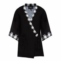 Nissa - Cotton Plaid Jacket