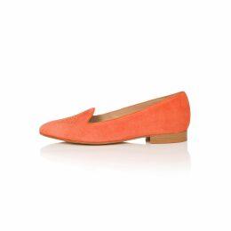 J-V-D-B - Larvotto Red-Tessellated & White-Euphoria Kimono Jacket In Crushed Velour