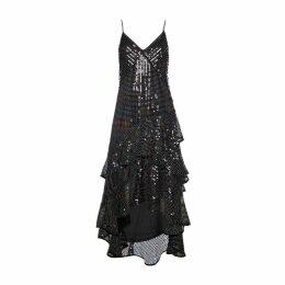 DIANA ARNO - Susanna Sequin Maxi Dress