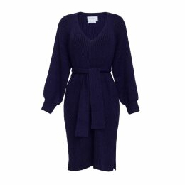 ELEVEN SIX - Ines Dress - Navy & Black Combo
