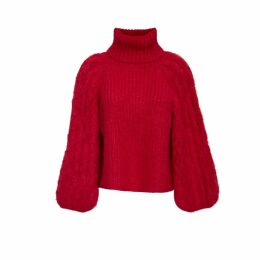 ELEVEN SIX - Nina Sweater - Persimmon Red