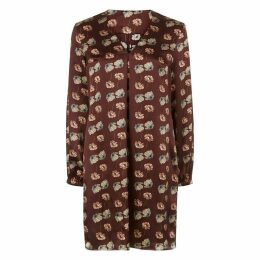 PHOEBE GRACE - Burgundy Poppy Emily Dress