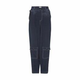 PHOEBE GRACE - Blue Leaf Emily Dress