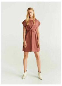 Bow wraped dress