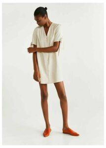 Buttones cotton dress