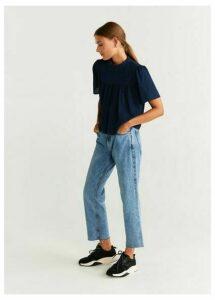Plumeti cotton blouse