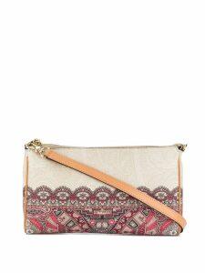 Etro geometric lace print bag - Neutrals