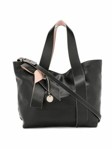 Red Valentino RED(V) bow detail tote - Black