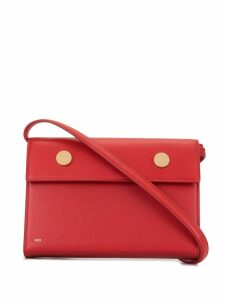 R.S.V.P. Epsom box clutch - Red